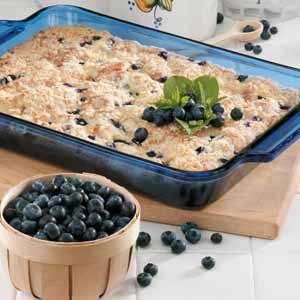 Blueberries 'N' Cheese Coffee Cake