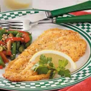 Breaded Flounder Fillets Recipe