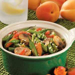 Stir-Fry Sesame Green Beans Recipe