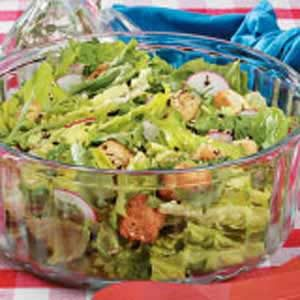 Mixed Greens Salad with Tarragon Dressing Recipe