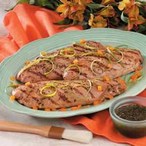 Marinated Turkey Tenderloins Recipe