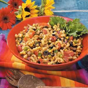 Southwestern Macaroni Salad Recipe