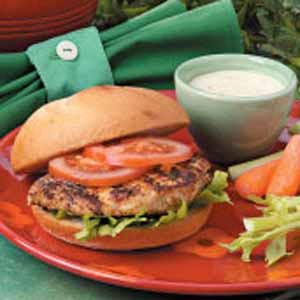 Cajun Chicken Sandwiches Recipe