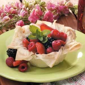 Berries in a Nest Recipe