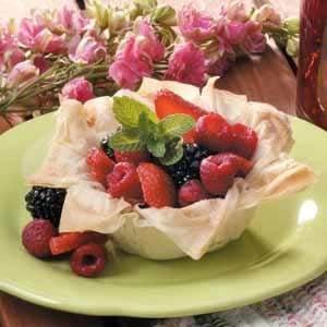 Berries in a Nest Recipe