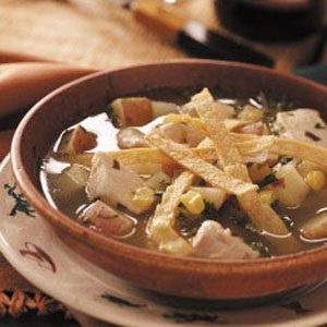 Chicken Tortilla Soup with Lime Recipe
