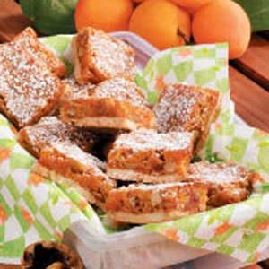 Apricot Walnut Bars Recipe