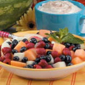 Cinnamon-Basil Fruit Salad Recipe
