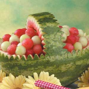 Watermelon Basket Recipe