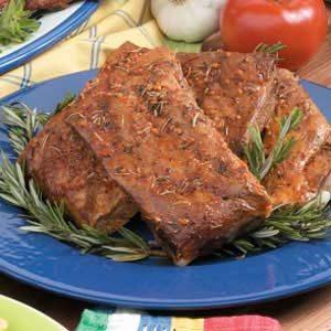 Herbed Spareribs Recipe