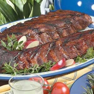 Marinated Baby Back Ribs