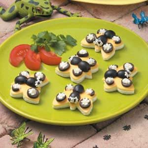 Butterfly Cheese Sandwiches