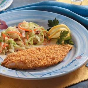 Breaded Orange Roughy Recipe