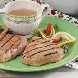 Citrus-Ginger Tuna Steaks Recipe