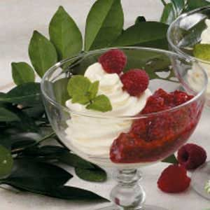 Raspberry Cream Dessert Recipe