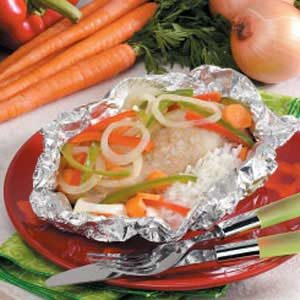 Veggie Chicken Packet Recipe