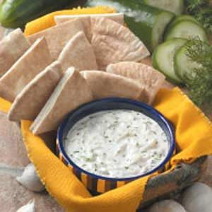 Garlic Cucumber Dip Recipe