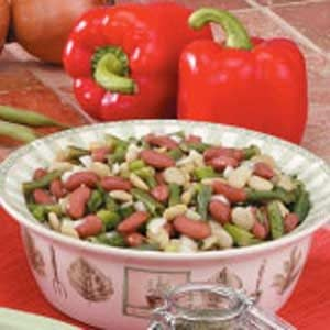 Quick Three-Bean Salad Recipe