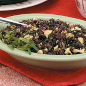 Apple-Cranberry Wild Rice Recipe