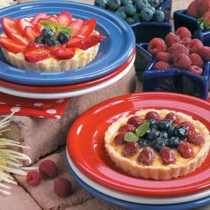 Fresh Fruit Tarts