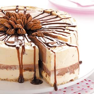 Chocolate Pecan Ice Cream Torte Recipe