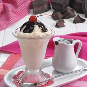 Rich Hot Fudge Sauce Recipe