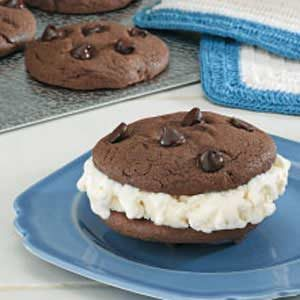 Chocolate Ice Cream Sandwiches Recipe