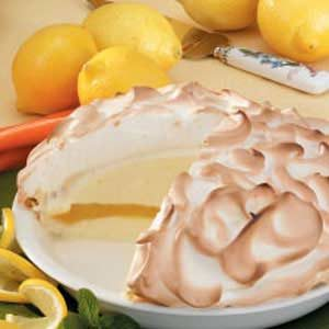 Lemon Baked Alaska Recipe