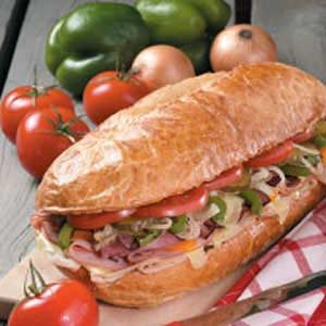 Grilled Sub Sandwich Recipe