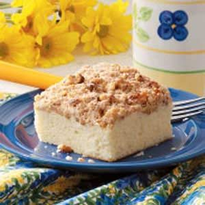 Cinnamon-Walnut Coffee Cake Recipe