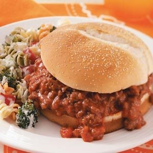Easy Salsa Sloppy Joes Recipe