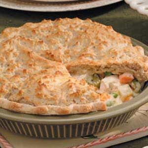 Vegetable Chicken Potpie Recipe