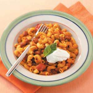 Meatless Chili Mac Recipe