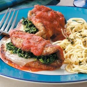 Stuffed Turkey Florentine Recipe