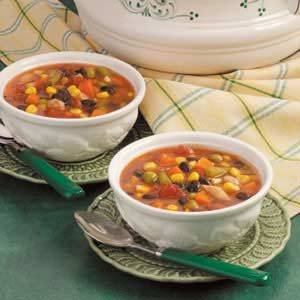 Fast Vegetable Soup Recipe