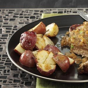 Lemon Roasted Potatoes Recipe
