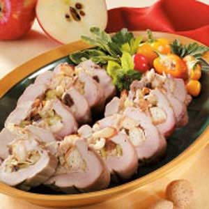 Apple-Stuffed Pork Tenderloin Recipe