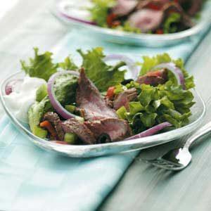Beef Strip Salad Recipe