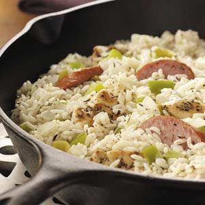 Sausage 'n' Chicken Skillet Recipe