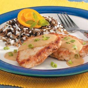 Pork Medallions with Dijon Sauce Recipe