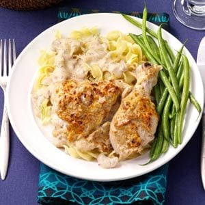 Sour Cream 'n' Dill Chicken Recipe