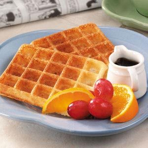 Overnight Yeast Waffles Recipe