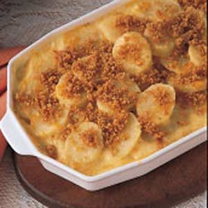 Cheddar Parmesan Potatoes Recipe