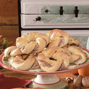 Orange-Hazelnut Breakfast Twists Recipe
