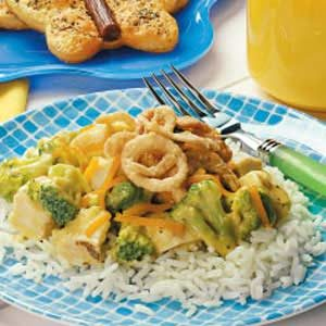 Cheesy Chicken Supper Recipe