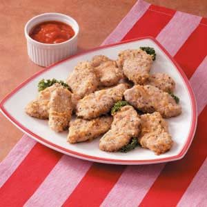 Cheesy Tenderloin Strips Recipe