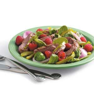 Grilled Sirloin Salad Recipe