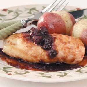Cranberry Skillet Chicken Recipe