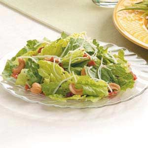 Bacon Swiss Romaine Salad Recipe