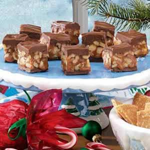 Walnut Caramel Treats Recipe